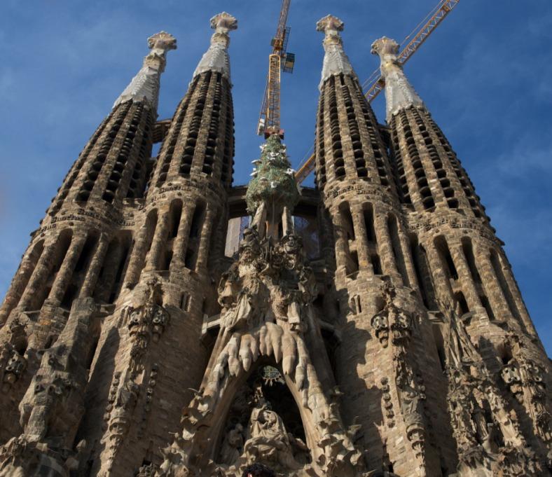 Architecture, Barcelona, Gaudi, Spain